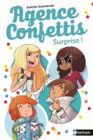Couverture Agence Confettis, tome 2 : surprise !