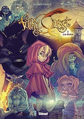 Couverture Fairy Quest, tome 2 : Les parias de Paul Jenkins et Humberto Ramos