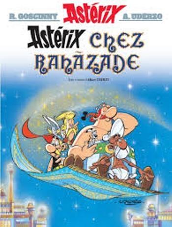 Couverture Astérix, tome 28 : Astérix chez Rahazade