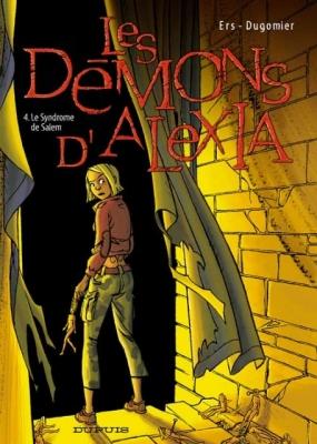 Couverture Les Démons d'Alexia, tome 4 : Le syndrome de Salem
