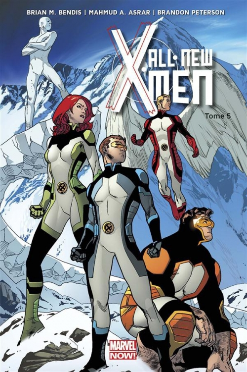 Couverture « All-New X-Men (Marvel Now), tome 5 : Déménagement » de Brian M. Bendis, Mahmud Asrar et Brandon Peterson