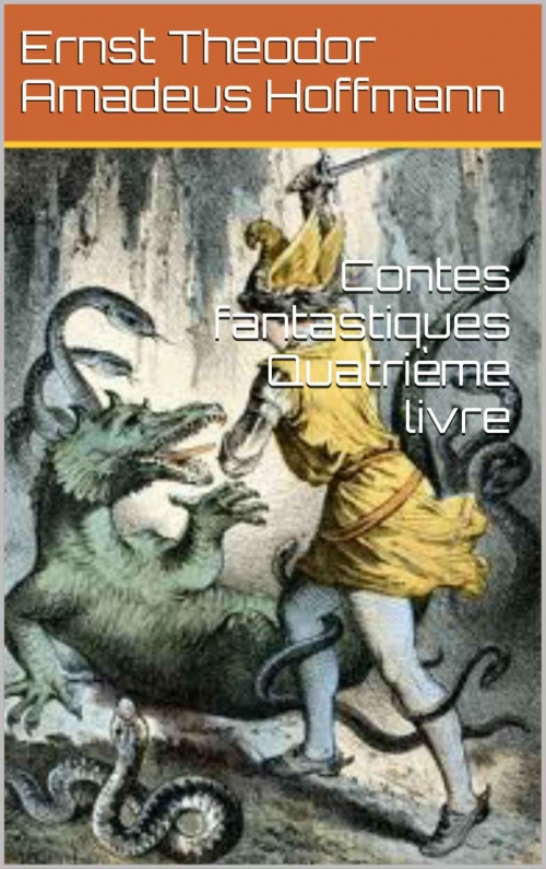 Couverture Contes fantastiques, tome 4
