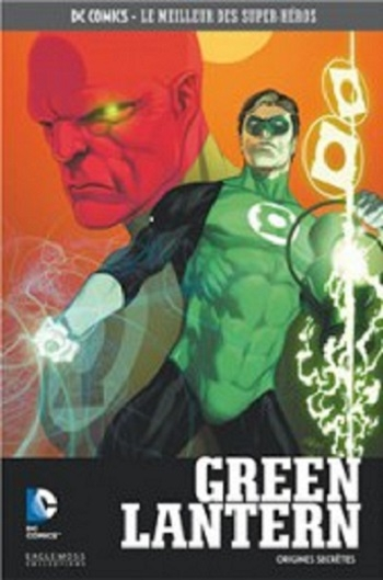 Couverture Geoff Johns présente Green Lantern, tome 00 : Origines Secrètes / Green Lantern : Origine Secrète