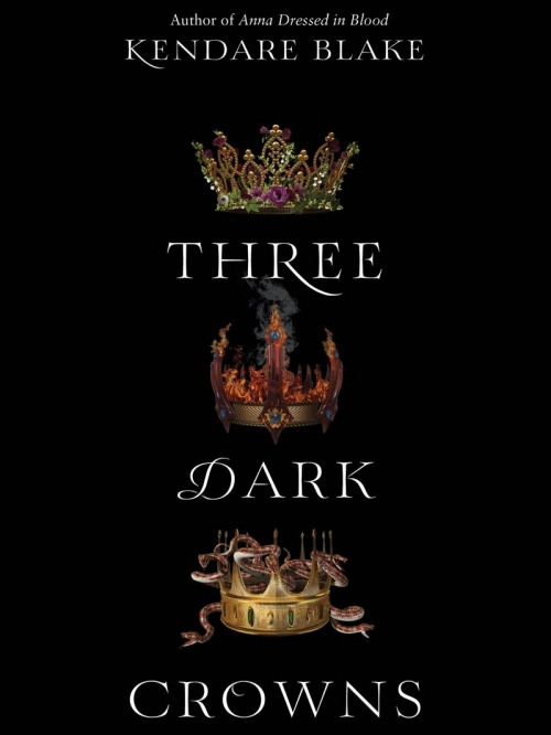 Couverture Three dark crowns, book 1