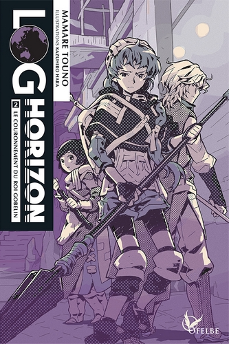 Couverture Log Horizon (roman), tome 2