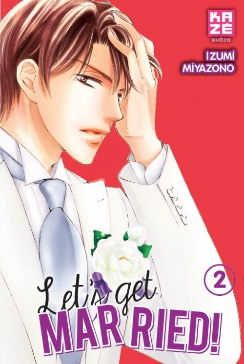 Couverture Let's get married!, tome 2