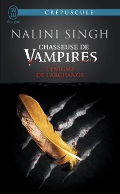 Couverture Chasseuse de vampires, tome 8 : L'énigme de l'Archange