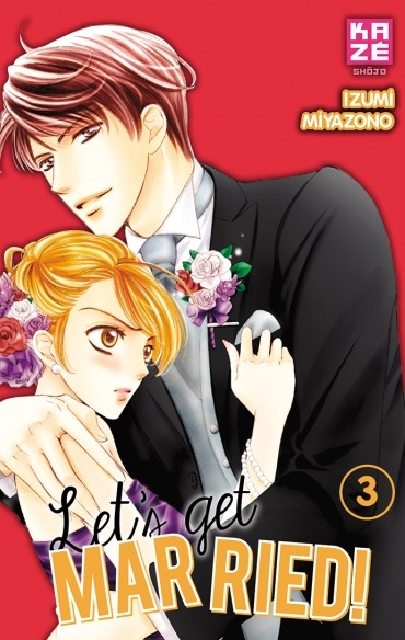 Couverture Let's get married!, tome 3