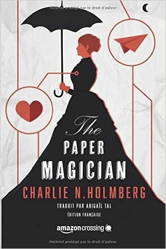 Couverture The paper magician, tome 1