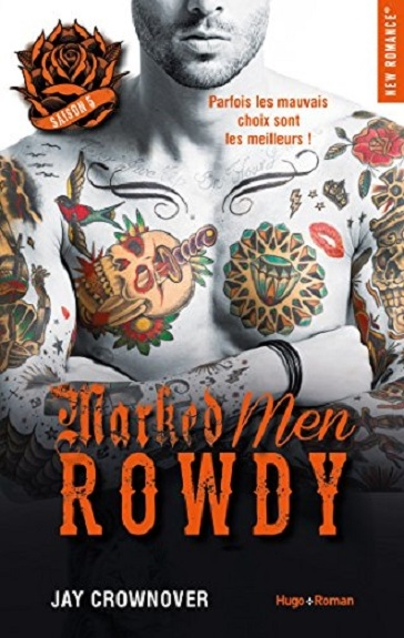 Couverture Marked Men, tome 5 : Rowdy