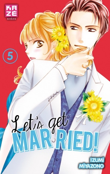 Couverture Let's get married!, tome 5