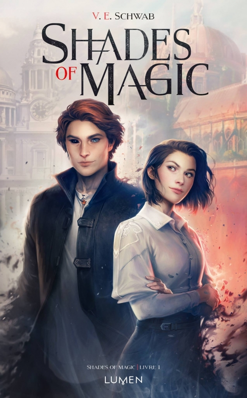 Couverture Shades of magic, tome 1
