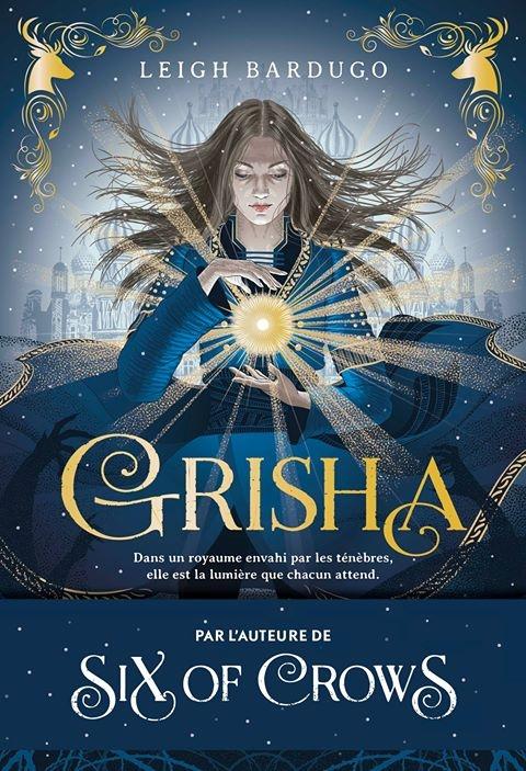 Couverture Grisha, tome 1 : Les orphelins du royaume
