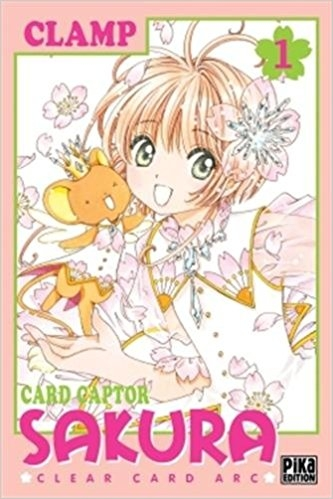 Couverture Card Captor Sakura : Clear Card Arc, tome 1