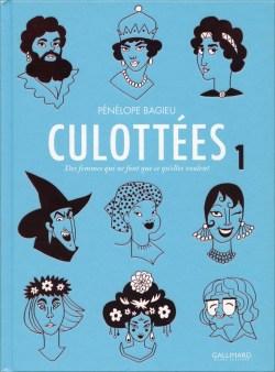 Couverture Culottées (gallimard), tome 1
