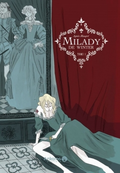 Couverture Milady de Winter d'Agnès Maupré