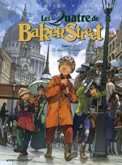 Couverture Les Quatre de Baker Street, tome 2 : Le dossier Raboukine de Jean-Blaise Djian, Olivier Legrand et David Etien