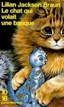 Couverture Le chat qui volait une banque