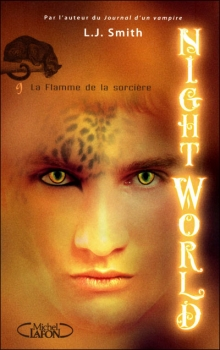 Couverture Night World, tome 09 : La Flamme de la sorcière