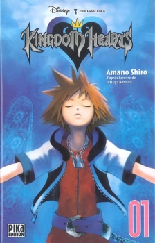 Couverture Kingdom Hearts, tome 1
