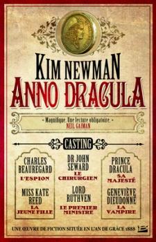 Couverture Anno Dracula de Kiw Newman