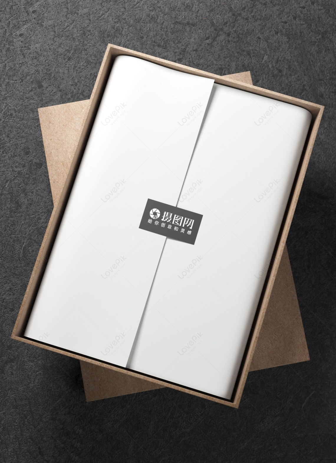 Download Gift box packaging mockup template image_picture free ...