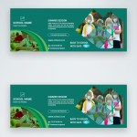 Green Education Facebook Cover Template Image Picture Free Download 450013469 Lovepik Com