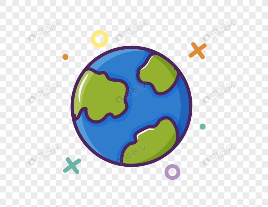 矢量卡通地球AI圖案素材免費下載 - 尺寸389 × 300px - 圖形ID400284927 - Lovepik