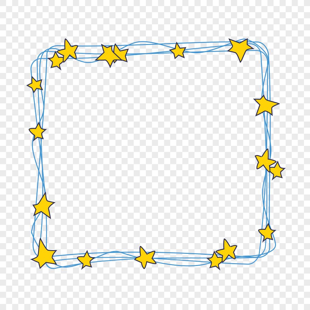 星星邊框PSD圖案素材免費下載 - 尺寸1000 × 1000px - 圖形ID401346526 - Lovepik