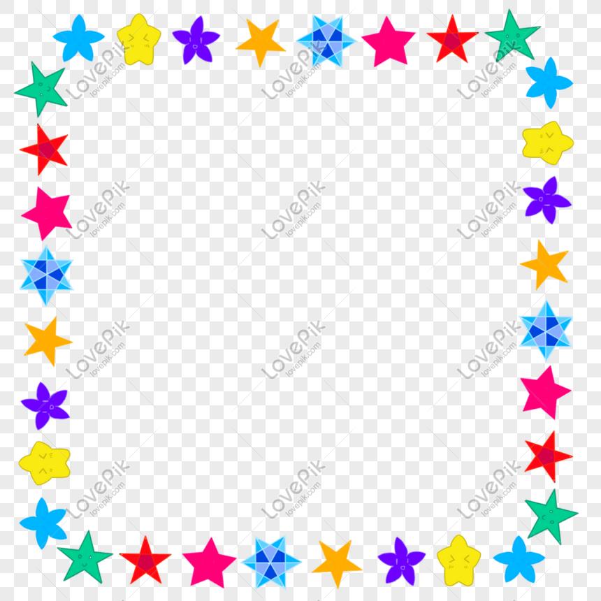 星星邊框PNG圖案素材免費下載 - 尺寸2598 × 2598px - 圖形ID401363404 - Lovepik