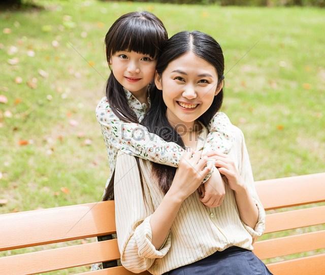 Ibu Dan Anak Perempuan Yang Cantik Gambar Unduh Gratis_imej