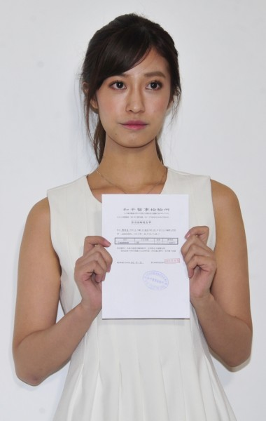 陳敬宣否認呼麻 秀檢驗報告自清 - 自由娛樂