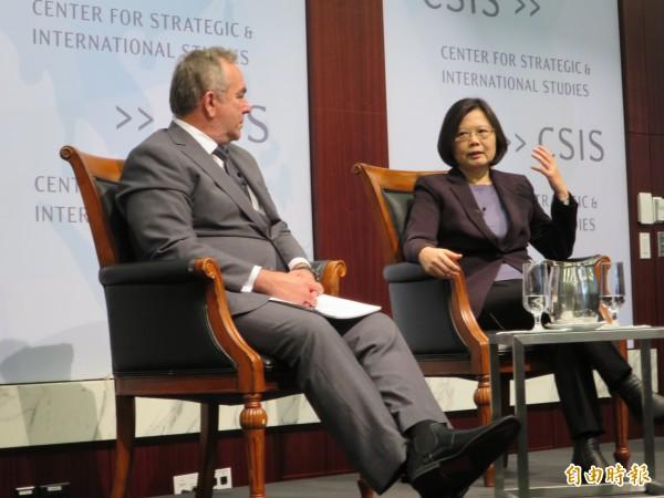 蔡英文:中華民國憲政體制下 推動兩岸關係 - 政治 - 自由時報電子報