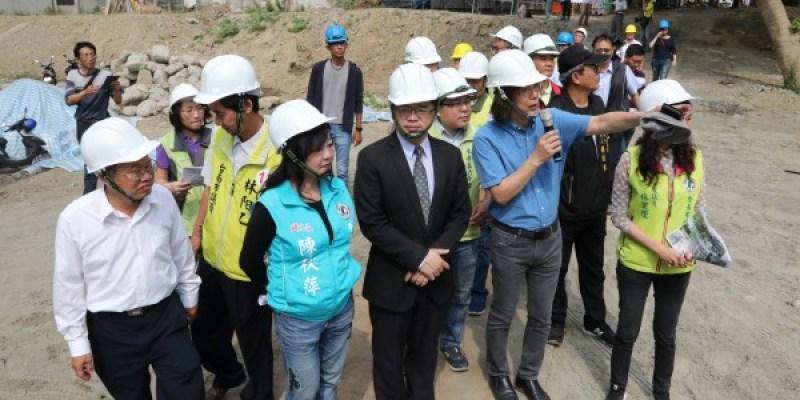 【永康公七公園】4000坪大面積 新闢共融式遊戲場 預計2019年1月完工