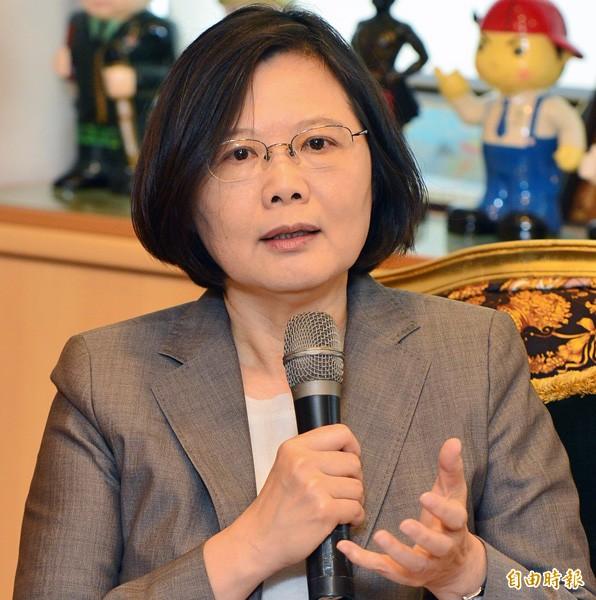 蔡英文29日啟程訪美 將晤副國務卿 - 政治 - 自由時報電子報