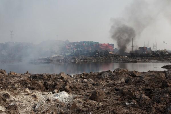 天津大爆炸 官方:114死,70失聯 - 國際 - 自由時報電子報