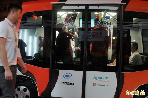 無人小巴士試驗成功!北市將擴大實施 - 生活 - 自由時報電子報