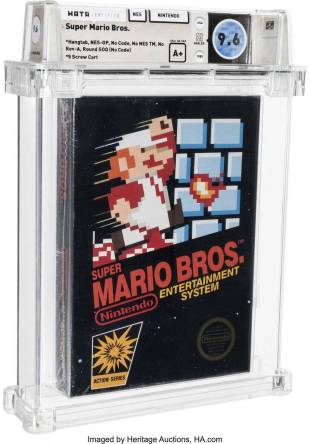 Look stupid! Super Mario sold unopened game cartridges for 18.84 million yuan in 1986-Free Times Electronic News.