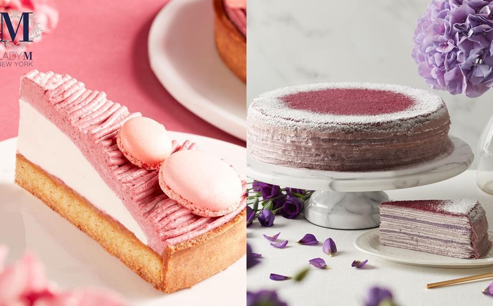 Lady M 秋季新品顏值爆表!「紫薯千層、莓果蒙布朗」還吃得到粉色馬卡龍