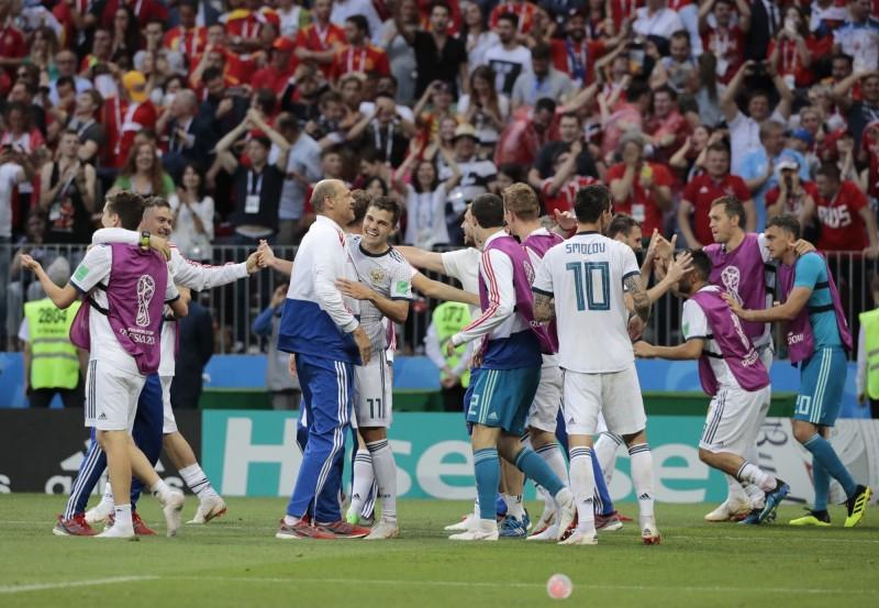 世足賽》PK大戰決勝負!地主俄羅斯爆冷擊敗西班牙 - 自由體育