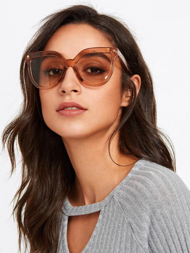 SheIn Oversized Tinted Lens Sunglasses