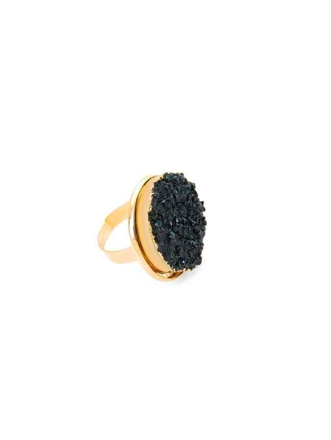 SheIn Contrast Gemstone Ring