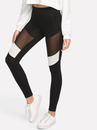 I love this casual leggings workout outfit!