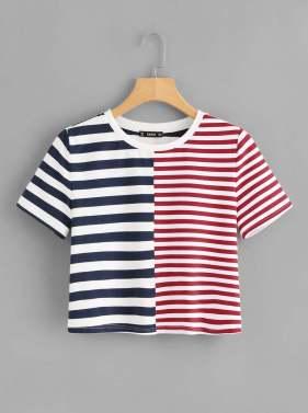 Shein Stripe T