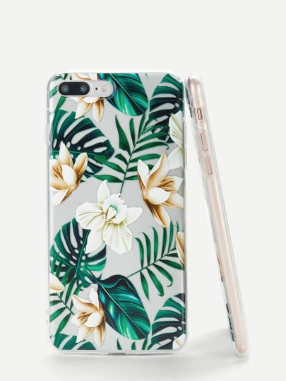 Tropical Leaf iPhone Case Palm Tree Print Vacation Pretty