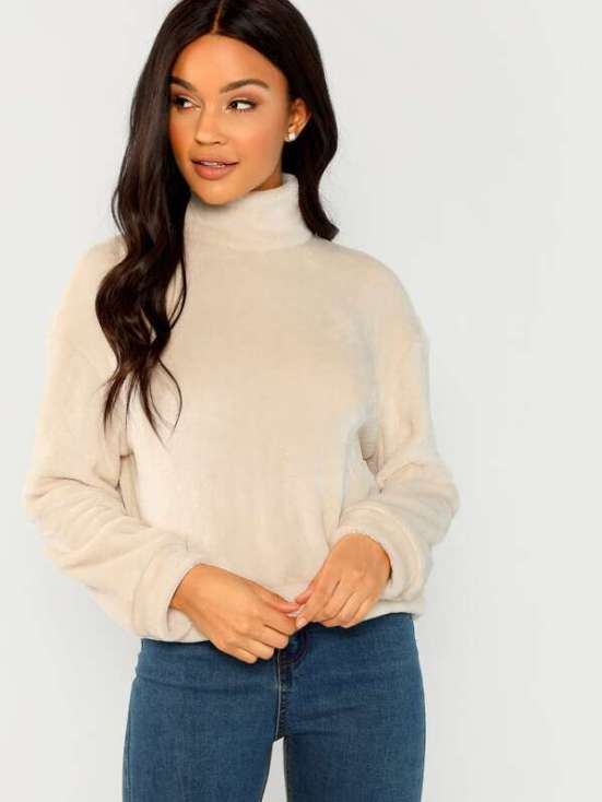 5 Fluffy Sweaters That Are Warmer Than A Jacket
