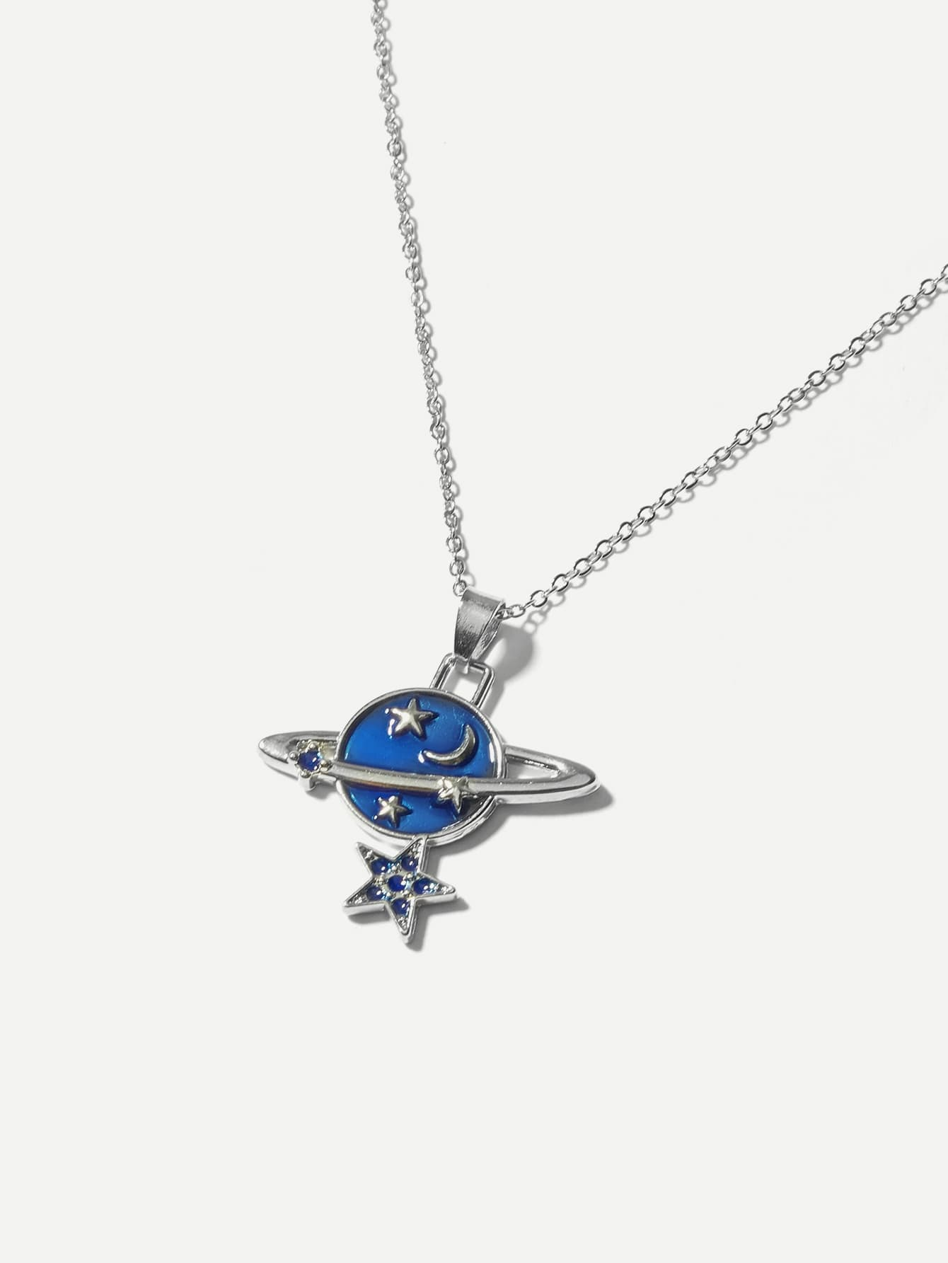 Star Pendant Chain Necklace