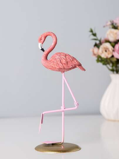 Flamingo Decorative Object. Home Decor. Florida Theme