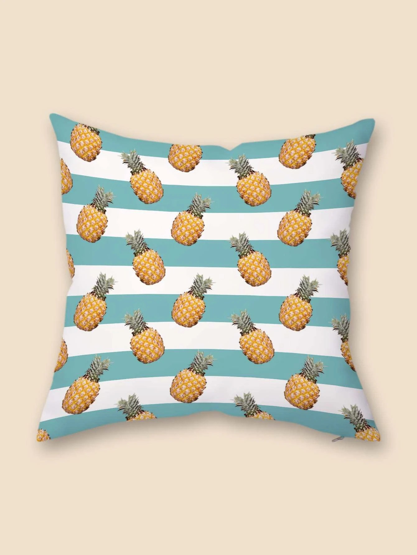 pineapple print cushion cover without filler