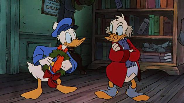 Fred Visits Scrooge Mickeys Christmas Carol Clip